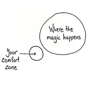Magievoorbijcomfortzone